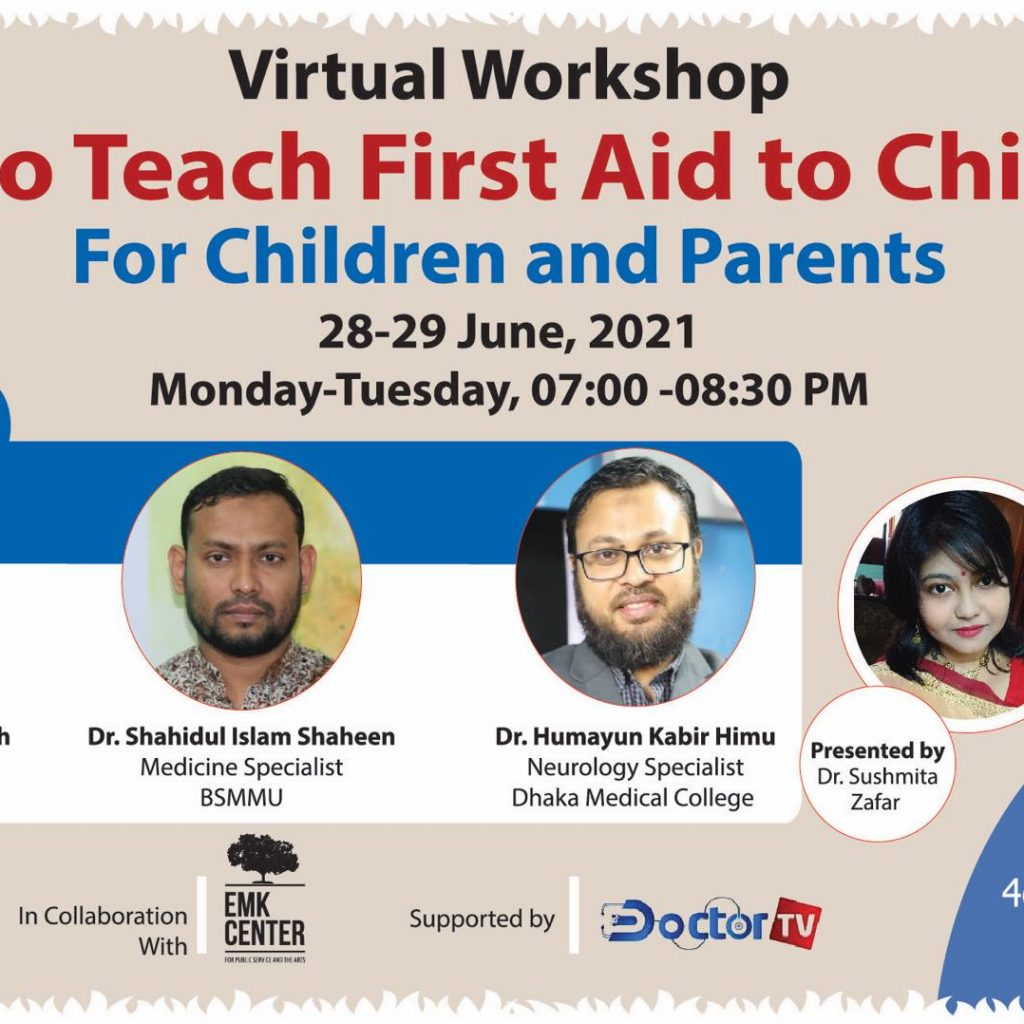 4c workshop on 'How to Teach First Aid to your Child